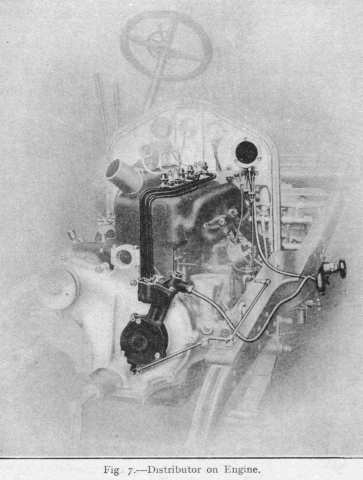Wolseley Air Start Distributor fig-7