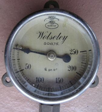 Wolseley Pressure Gauge