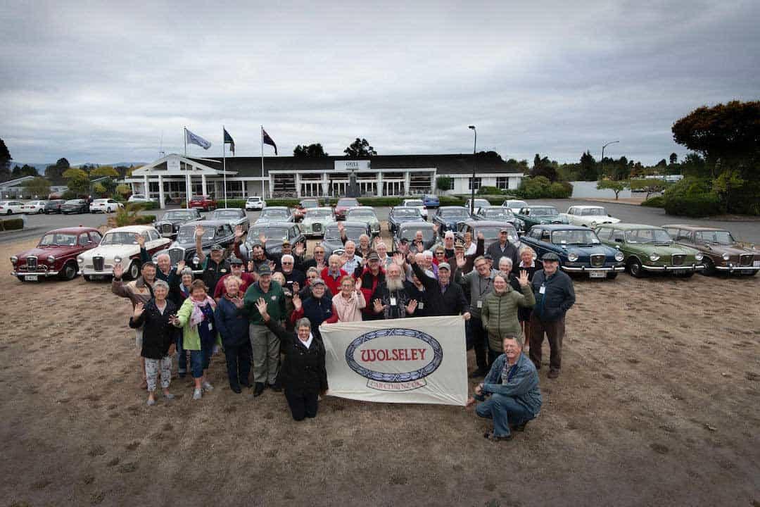 Wolseley Club National Rally Big Friendly Wave