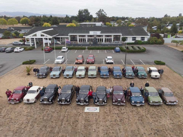 Wolseley Club National Rally Cars and Owners