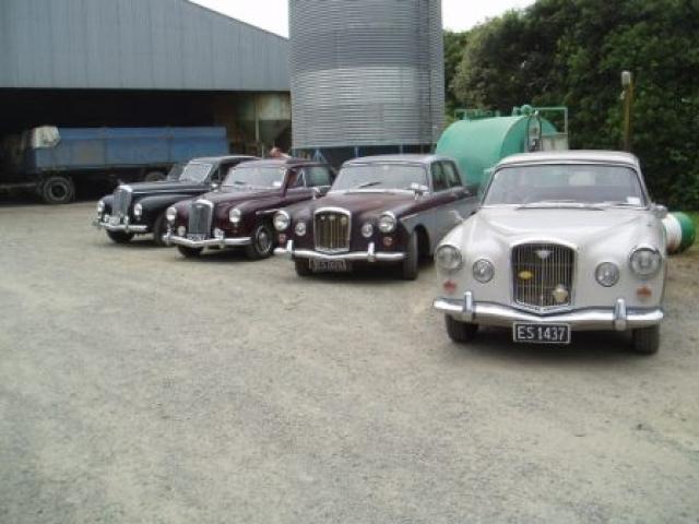 Wolseley and Mercedes club run 2010 13 1