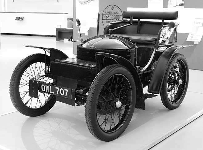 1899 Wolseley 3.5HP Voiturette