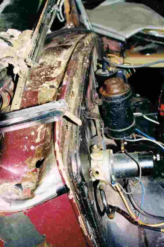1934 Hornet Restoration 08