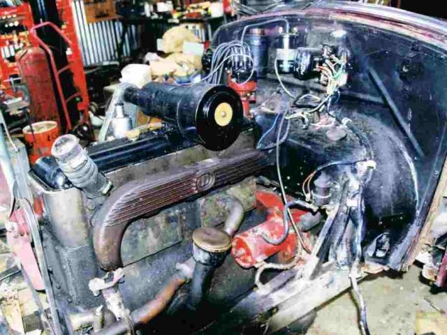 1934 Hornet Restoration 09