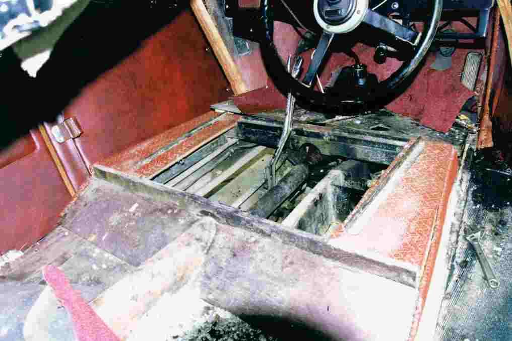1934 Hornet Restoration 12