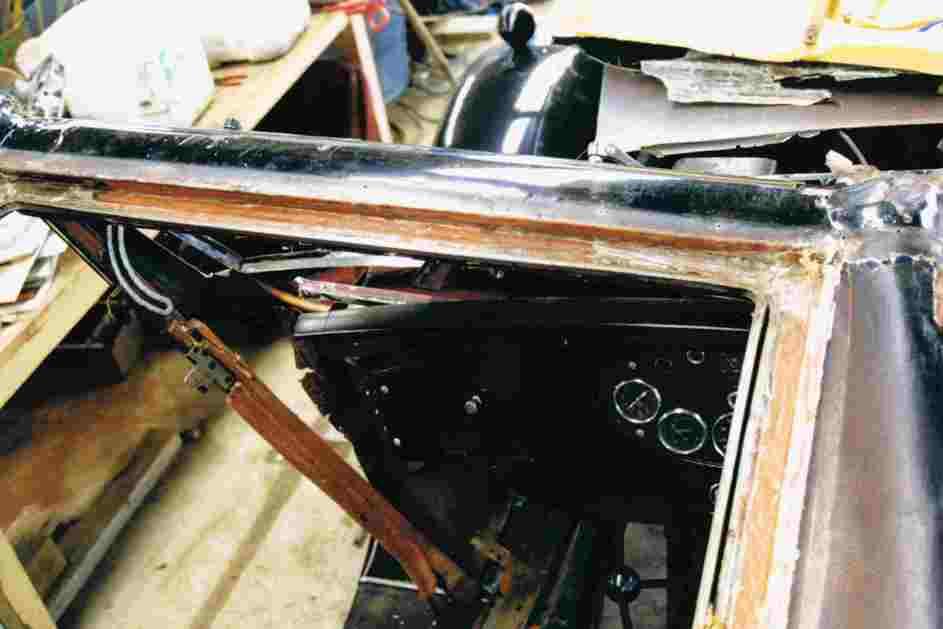 1934 Hornet Restoration 14