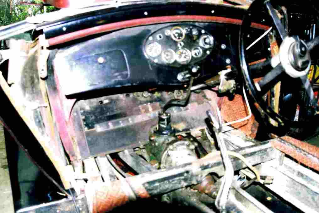 1934 Hornet Restoration 16