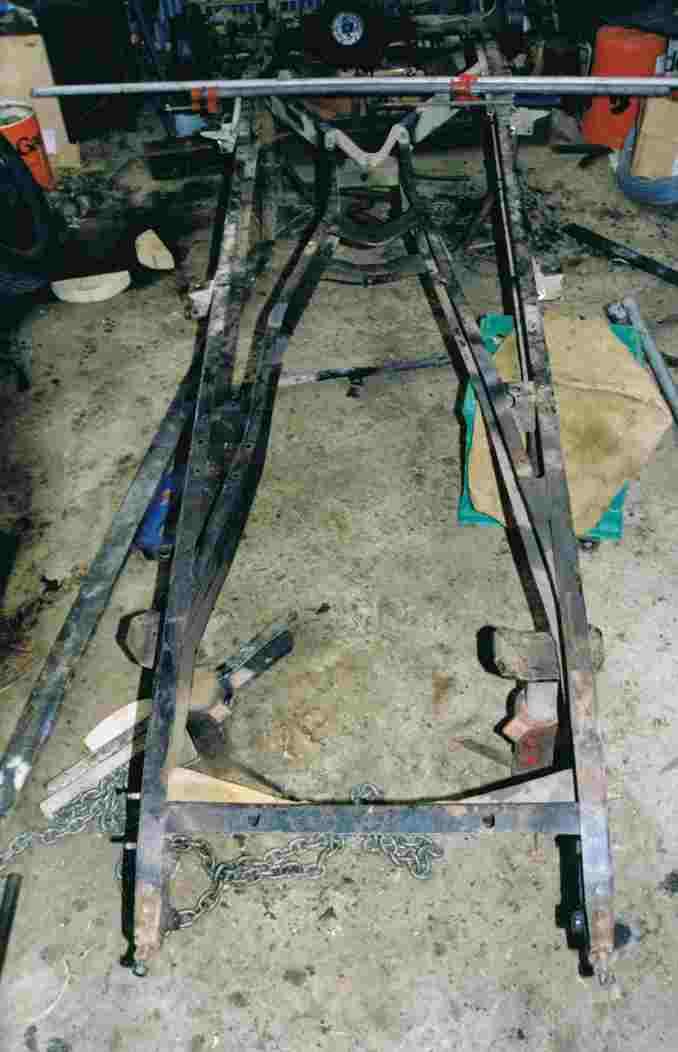 1934 Hornet Restoration 19