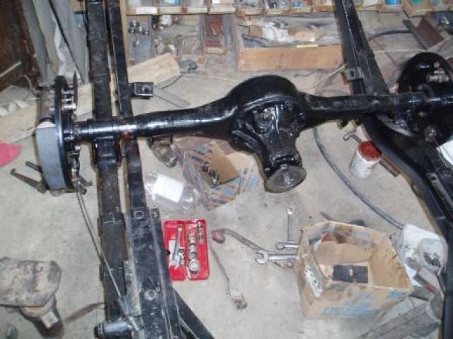 Rebuild rear brakes 02