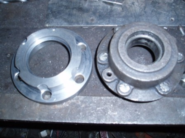 Rebuild rear brakes 03