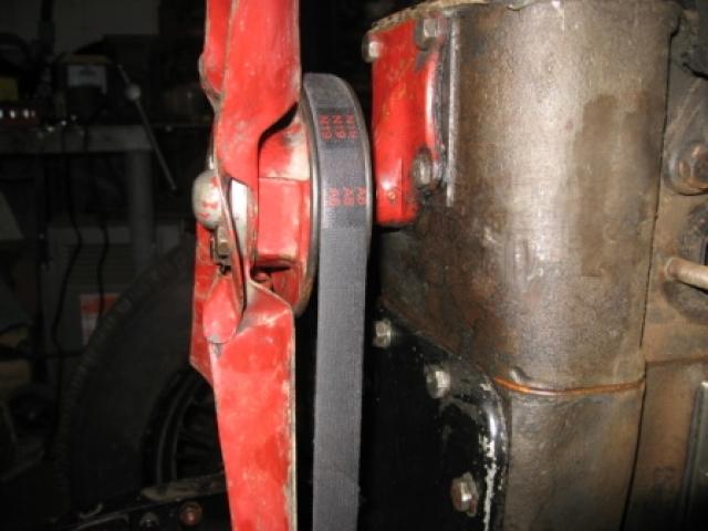 Rebuild water pump 01