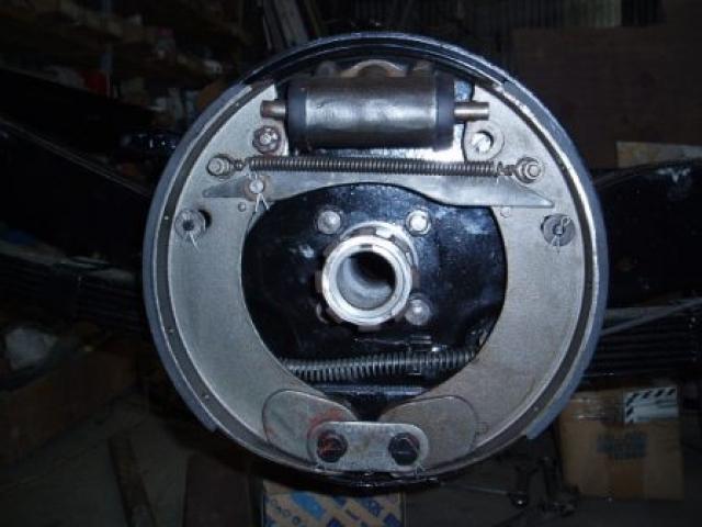 Remachine rear half shafts to run true 02