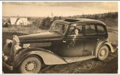 Alan Elmslie's 1936 25 H.P. Super Six Saloon