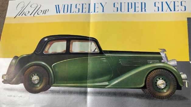 Wolseley Super Six