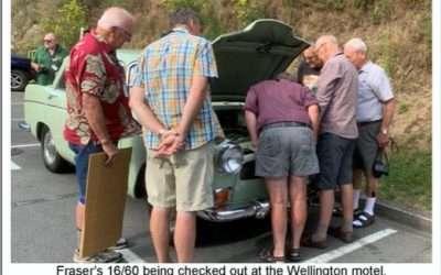 F Buchanan Rally – Visit to Catch Up