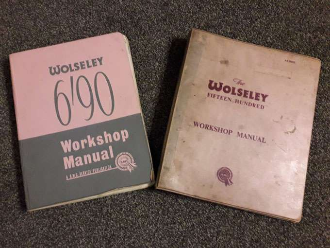 Examples of Manuals available for sale