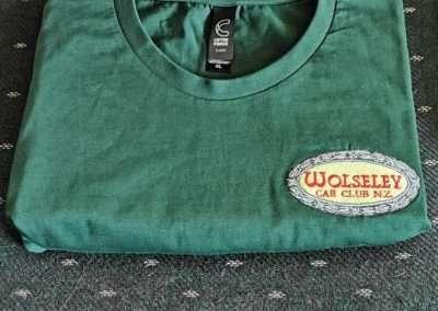 Wolseley Car Club NZ Tee Shirt $25