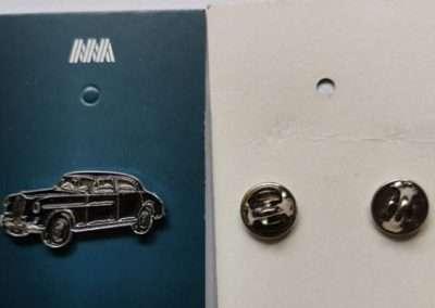 Wolseley Car Club Maroon Wolseley 680 Lapel Pin 01