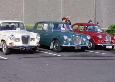 1967 16/60 MkI, 1966 6/110 MkII, 1961 1500 MkII