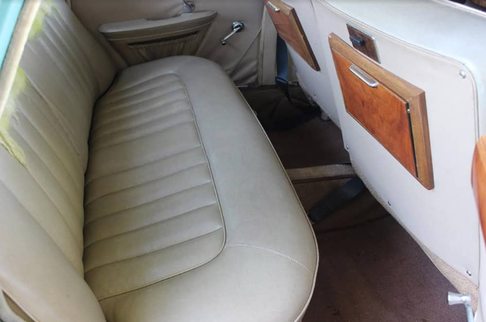 1968 6 110 Back Seat