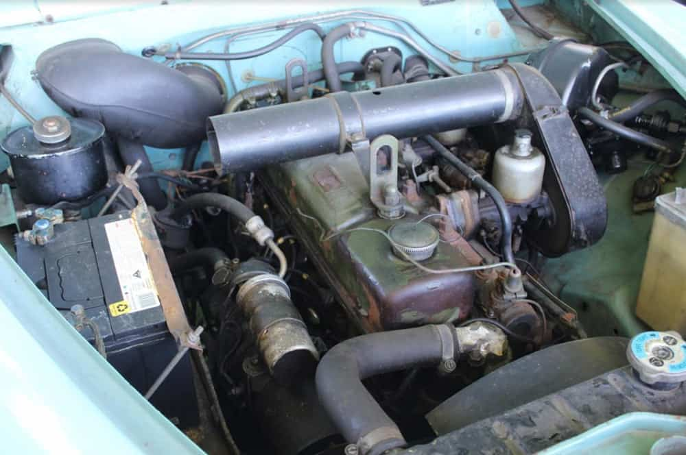 1968 6 110 Engine